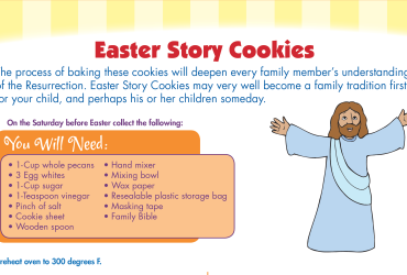 Recipe For Baking Easter Story Cookies! :)