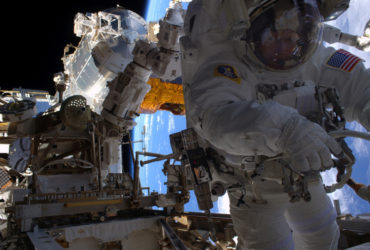 Astronaut Peggy Whitson's 7th Spacewalk