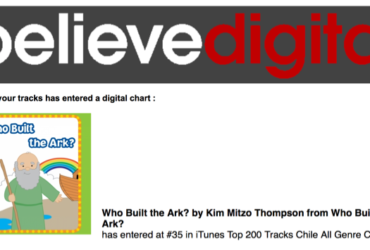Who Built The Ark – Another Top #200 Itunes Ranking For Twin Sisters!